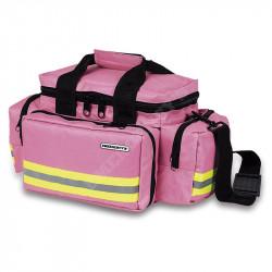 Bolsa ligera de emergencias rosa
