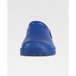 Zueco Sanitario ultraligero EVA azul