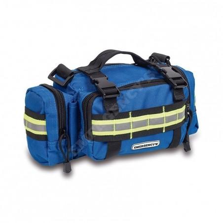 Riñonera emergencias y primeros auxilios azul