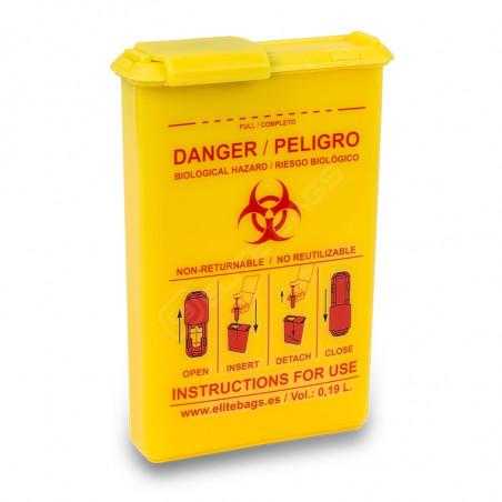 CONBIO´S, contenedor de bolsillo para material biocontaminado.