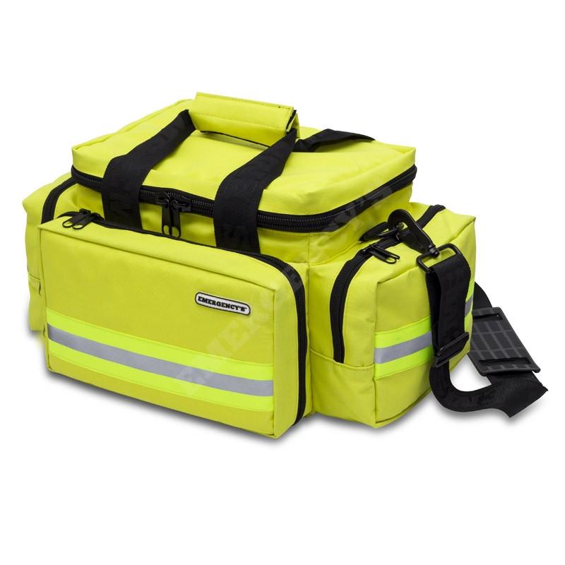 Bolsa ligera de emergencias amarilla