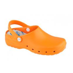 Zuecos Flotantes Naranja